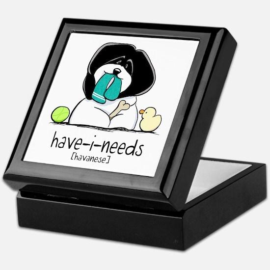 Have-i-Needs Havanese Keepsake Box
