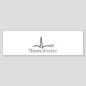 Nursing Student XXX Bumper Sticker