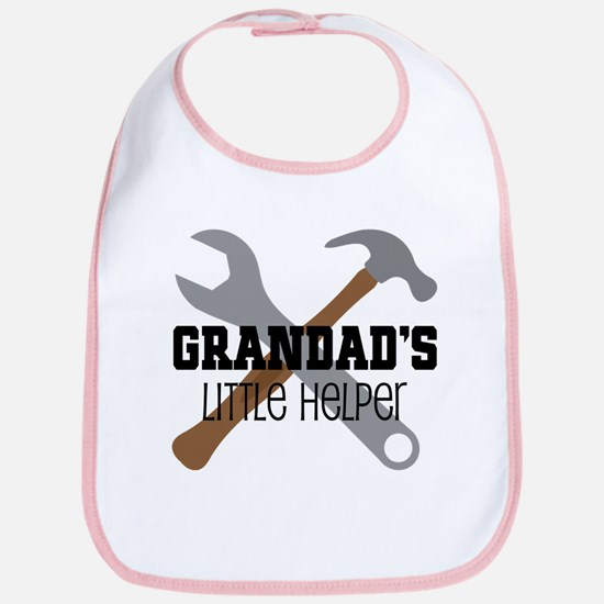 Grandad Little Helper Bib