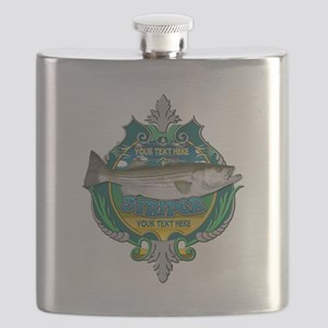 Personalized Striper Flask
