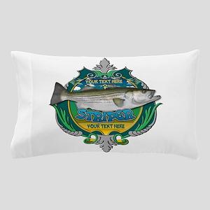 Personalized Striper Pillow Case