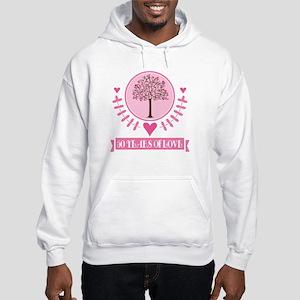 50th Anniversary Love Tree Hooded Sweatshirt