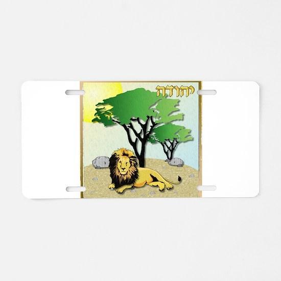 12 Tribes Israel Judah Aluminum License Plate