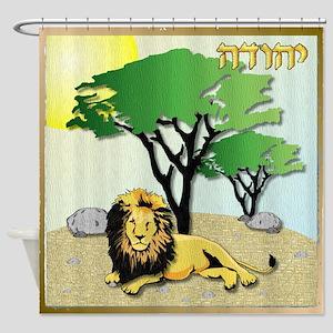 12 Tribes Israel Judah Shower Curtain