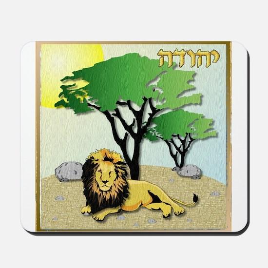12 Tribes Israel Judah Mousepad