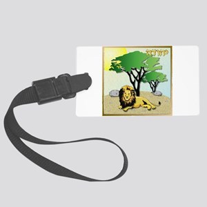 12 Tribes Israel Judah Luggage Tag