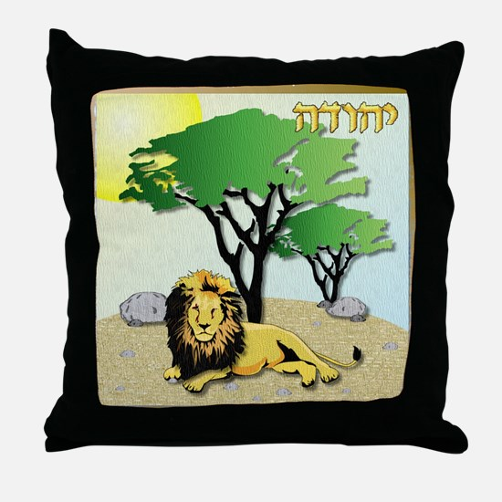 12 Tribes Israel Judah Throw Pillow