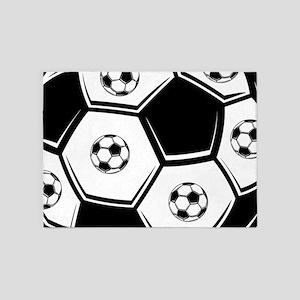 Love Soccer 5'x7'Area Rug
