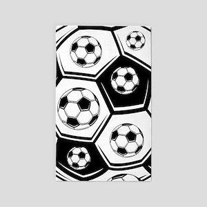 Love Soccer 3'x5' Area Rug