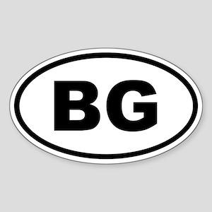 Bulgaria BG Sticker