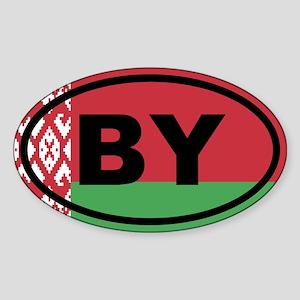Belarus flag Sticker