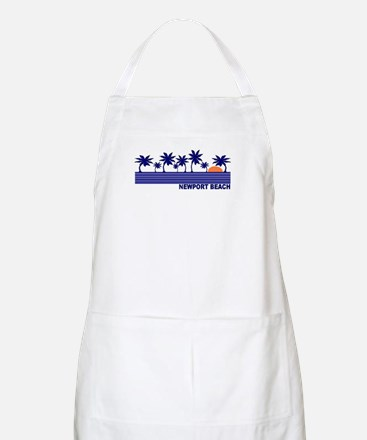 Newport Beach, California BBQ Apron