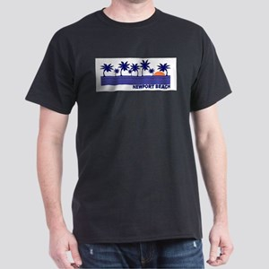 Newport Beach, California Dark T-Shirt