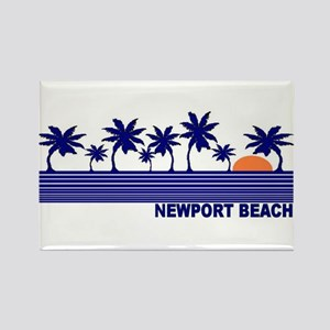 Newport Beach, California Rectangle Magnet