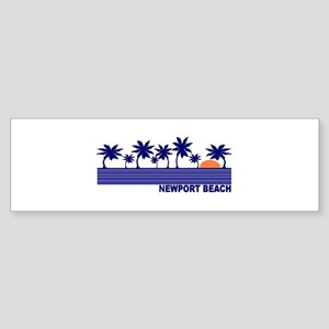 Newport Beach, California Bumper Sticker