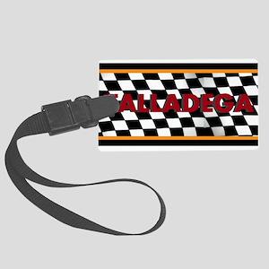 Talladega Alabama License Plate Luggage Tag