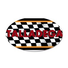 Talladega Alabama License Plate Wall Decal