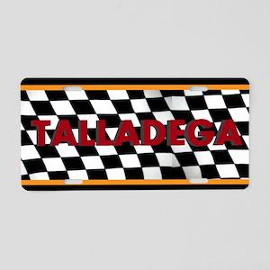 Talladega Alabama License Plate Aluminum License P
