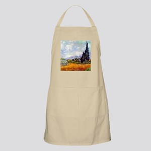 Van Gogh Wheat Field with Cypresses Apron