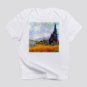 Van Gogh Wheat Field with Cypresses Infant T-Shirt