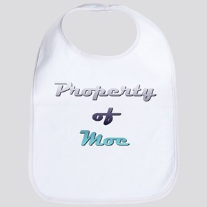 Property Of Moe Male Baby Bib
