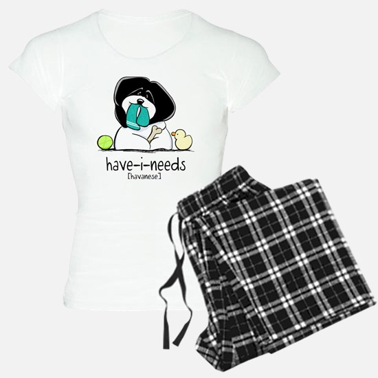 Have-i-Needs Havanese Pajamas