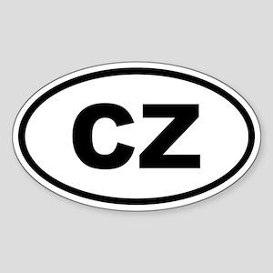 Czech Republic CZ Sticker