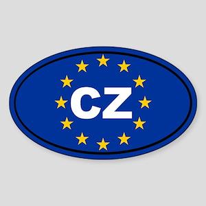 Czech Republic European Union Sticker