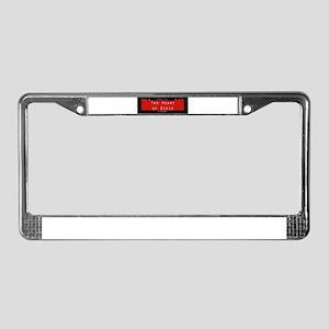 Alabama Nickname #1 License Plate Frame