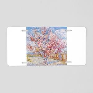 Van Gogh Peach Trees in Blossom Aluminum License P