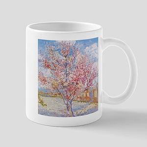 Van Gogh Peach Trees in Blossom Mugs