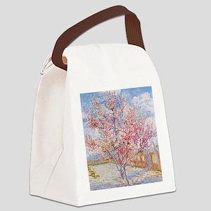 Van Gogh Peach Trees in Blossom Canvas Lunch Bag