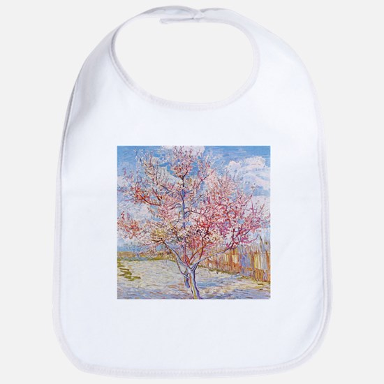 Van Gogh Peach Trees in Blossom Bib