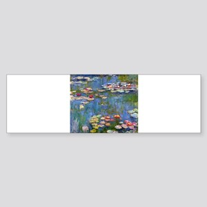 Monet Water lilies Bumper Sticker