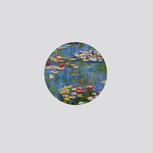 Monet Water lilies Mini Button