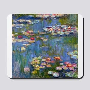 Monet Water lilies Mousepad