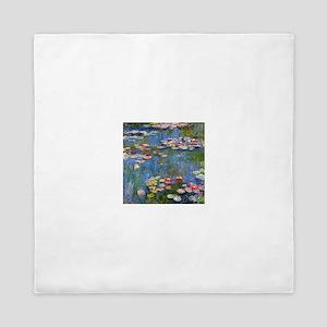Monet Water lilies Queen Duvet