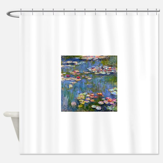 Monet Water lilies Shower Curtain