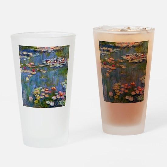 Monet Water lilies Drinking Glass