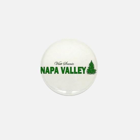 Visit Scenic Napa Valley, Cal Mini Button