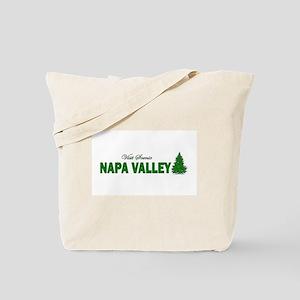 Visit Scenic Napa Valley, Cal Tote Bag