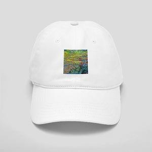 Water lilies by Claude Monet Baseball Cap