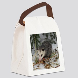 Baby Possum Canvas Lunch Bag