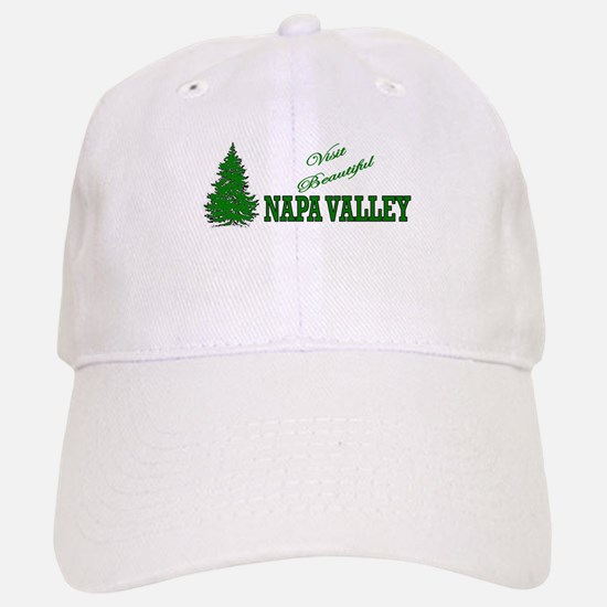 Visit Beautiful Napa Valley, Baseball Baseball Cap