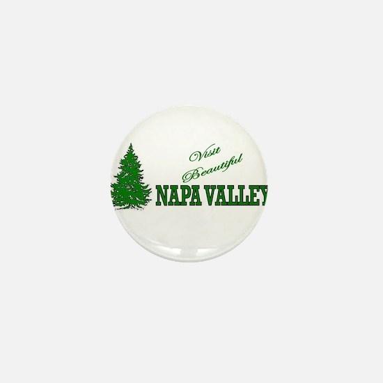 Visit Beautiful Napa Valley, Mini Button