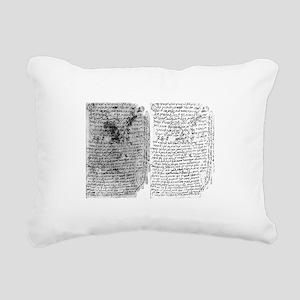 Rambam Rectangular Canvas Pillow