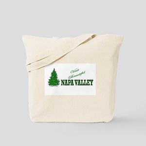 Visit Beautiful Napa Valley, Tote Bag