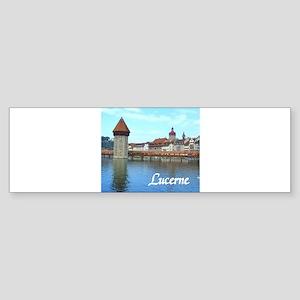 Lucerne souvenir Bumper Sticker