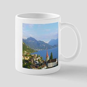Switzerland Swiss landscape Mugs