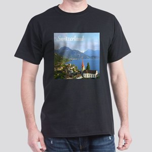 Switzerland view over lake T-Shirt